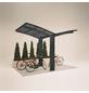 XIMAX Einzelcarport »Portoforte Mini«, Außenmaß BxT: 404 x 253,8 cm, schwarz-Thumbnail