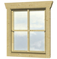 SKANHOLZ Einzelfenster, BxH: 78,5 x 70,5 cm, Holz-Thumbnail