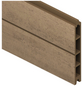 TraumGarten Einzelprofil »System«, Holz-Polymer-Werkstoffe (WPC), LxH: 178 x 15 cm-Thumbnail