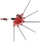 GRIZZLY Elektro-Heckenschere, 460W, Schnittlänge: 41 cm, teleskopierbar-Thumbnail
