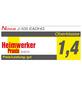 NOVUS Elektro-Tacker »J-105«, Klammertyp 53F/53, Klammerlänge: 6 - 14 mm-Thumbnail