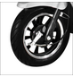 DIDI THURAU Elektromobil »Bologna«, 25 km/h (max.), silberfarben-Thumbnail