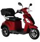 DIDI THURAU Elektromobil »Bologna«, max. 25 km/h, Reichweite: 50 km, rot-Thumbnail