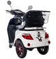 GREENSTREET Elektromobil »E-Mover«, 25 km/h (max.), Reichweite 60 km (eco), weiß-Thumbnail