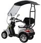DIDI THURAU Elektromobil »Palermo«, 15 km/h (max.), silberfarben-Thumbnail