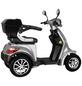 DIDI THURAU Elektromobil »Palermo«, max. 25 km/h, Reichweite: 50 km, silberfarben-Thumbnail