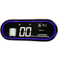 Elektroroller, 45 km/h (max.), schwarz-Thumbnail