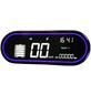 Elektroroller, 45 km/h (max.), weiß - schwarz-Thumbnail