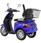 LuXXon Elektroroller »E3800«, max. 20 km/h, Reichweite: 63 km, blau-Thumbnail
