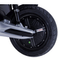 GT UNION Elektroroller »eStriker«, 45 km/h (max.), blau - schwarz-Thumbnail