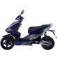 GT UNION Elektroroller »eStriker«, max. 25 km/h, Reichweite: 30 km, blau/schwarz-Thumbnail