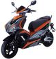 GT UNION Elektroroller »eStriker«, max. 25 km/h, Reichweite: 30 km, orange/schwarz-Thumbnail