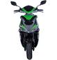 GT UNION Elektroroller »eStriker«, max. 45 km/h, Reichweite: 70 km, schwarz/grün-Thumbnail