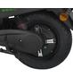GREENSTREET Elektroroller »SEED«, 45 km/h (max.), Reichweite 80 km (eco), mattschwarz - grün-Thumbnail
