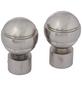 GARDINIA Endknopf, Ally, Kugel, 19 mm, 2 Stück, Silber-Thumbnail