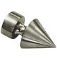 GARDINIA Endknopf, Ally, Spitze, 19 mm, 2 Stück, Silber-Thumbnail