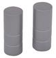 GARDINIA Endknopf, Ally, Zylinder, 19 mm, 2 Stück, Silber satin-Thumbnail