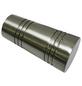 GARDINIA Endknopf Apollo, Chicago, Zylinder, 2 Stück, Silber-Thumbnail