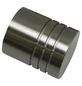 GARDINIA Endknopf, Chicago, Zylinder, 20 mm, 2 Stück, Silber-Thumbnail