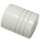 GARDINIA Endknopf, Chicago, Zylinder, 20 mm, 2 Stück, Weiß-Thumbnail