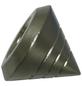 GARDINIA Endknopf, Memphis, Kegel, 16 mm, 2 Stück, Silber-Thumbnail