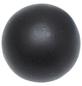 GARDINIA Endknopf, Memphis, Kugel, 16 mm, 2 Stück, Schwarz-Thumbnail