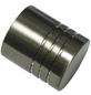 GARDINIA Endknopf, Memphis, Zylinder, 16 mm, 2 Stück, Silber-Thumbnail