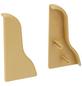 FN NEUHOFER HOLZ Endstück »FU018«, (2 Stk.) aus Kunststoff, für Sockelleisten-Thumbnail