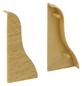 FN NEUHOFER HOLZ Endstück »KU04«, (2 Stk.) aus Kunststoff, für Sockelleisten-Thumbnail