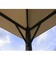 GRASEKAMP Ersatzdach »Nizza«, BxT: 296 x 296cm, sandfarben, Polyester-Thumbnail