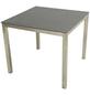 ploß® Esstisch »Tribeca«, mit Spraystone-Tischplatte, BxLxH: 90x90x75 cm-Thumbnail