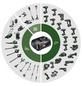 BOSCH HOME & GARDEN Exzenterschleifer »AdvancedOrbit 18«, 18V, ohne Akku-Thumbnail