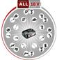 BOSCH Exzenterschleifer »AdvancedOrbit 18«, 18V, ohne Akku-Thumbnail