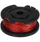 MR. GARDENER Fadenspule, Kunststoff/nylon, rot/schwarz-Thumbnail
