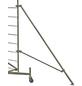KRAUSE Fahrgerüst, CLIMTEC, Aluminium, 700 cm, 150x60 cm-Thumbnail