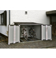FLORAWORLD Fahrradgarage, 206 x 163 x 204 cm (BxHxT), 6.100 Liter-Thumbnail