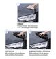GENTLEMONKEYS Fahrzeugreiniger-Set, Gentle Wipes, Schwarz, 20 Stk.-Thumbnail