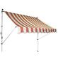 GO/ON! Fallarmmarkise, BxT: 250 x 150 cm, creme/orange gestreift-Thumbnail