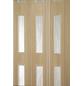 FORTE Falttür »Luciana«, Dekor: Esche, Lamellenfenster: 4, Höhe: 202 cm-Thumbnail