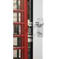 FORTE Falttür »Vera«, Dekor: Telefon, ohne Fenster, Höhe: 204 cm-Thumbnail