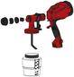 EINHELL Farbspritzpistole »TC-SY 500 P« für Lacke und Lasuren-Thumbnail