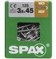 SPAX Faserplattenschraube, T-STAR plus, 125 Stk., 3,5 x 45 mm-Thumbnail