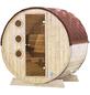 WOLFF FINNHAUS Fasssauna B x T: 205 x 160 cm, ohne Ofen, Blockbohlen-Thumbnail