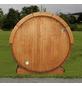WOLFF FINNHAUS Fasssauna, B x T: 205 x 405 cm, ohne Ofen, Blockbohlen-Thumbnail