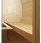 WOLFF FINNHAUS Fasssauna »Basic«, Fichtenholz, beige, 6 Personen, 5,7 m2-Thumbnail