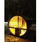 WOLFF FINNHAUS Fasssauna »De luxe«, Fichtenholz, beige, 6 Personen-Thumbnail