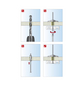 TOX Federklappdübel, Stahl   verzinkt, 2 Stück, 18 x 100 mm-Thumbnail