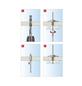 TOX Federklappdübel, Stahl | verzinkt, 50 Stück, 12 x 85 mm-Thumbnail