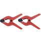 CONNEX Federspannzwinge, Spannweite: 55 mm, Kunststoff, 1,5 cm-Thumbnail
