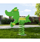 WEKA Federwippe »Tabaluga«, BxHxT: 95,1 x 86 x 22 cm, grün-Thumbnail